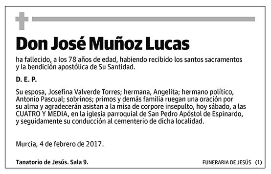 José Muñoz Lucas