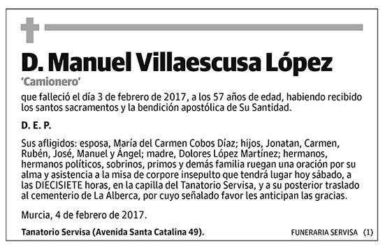 Manuel Villaescusa López