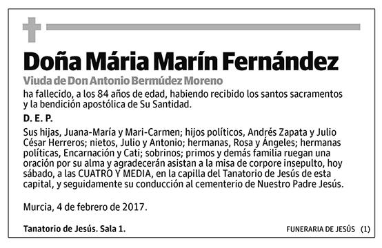 María Marín Fernández