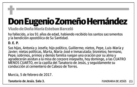 Eugenio Zomeño Hernández