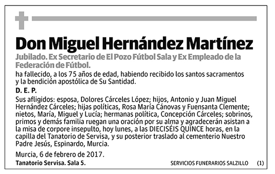 Miguel Hernández Martínez
