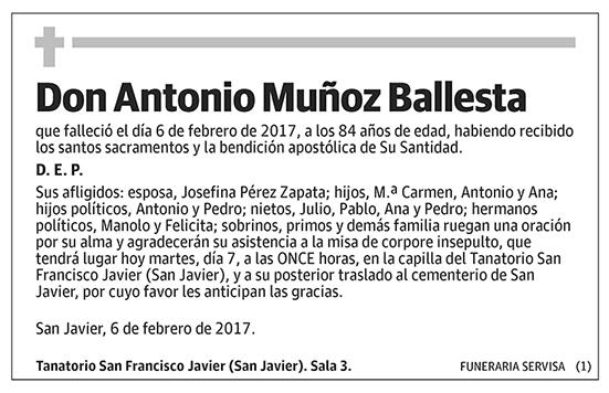 Antonio Muñoz Ballesta