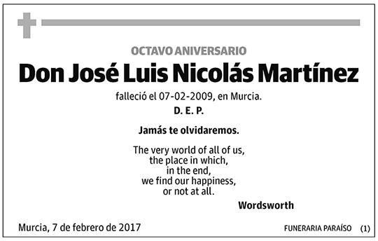 José Luis Nicolás Martínez
