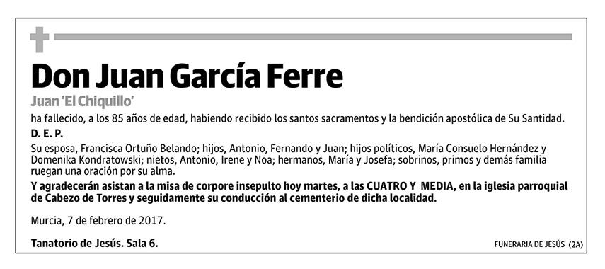 Juan García Ferre