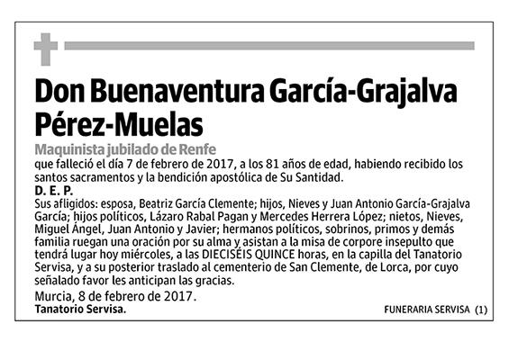 Buenaventura García-Grajalva Pérez-Muelas
