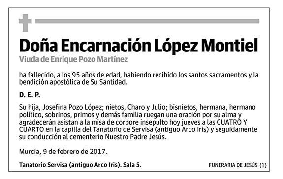 Encarnación López Montiel