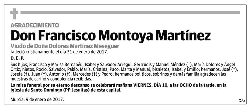 Francisco Montoya Martínez