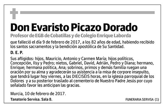 Evaristo Picazo Dorado
