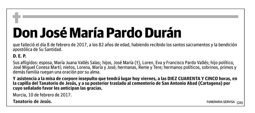 José María Pardo Durán