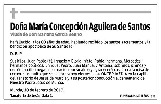 María Concepción Aguilera Santos