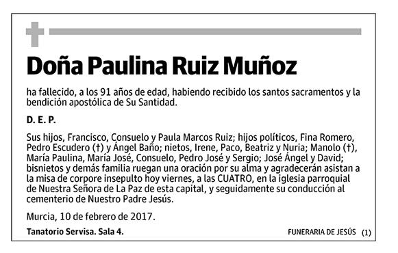 Paulina Ruiz Muñoz