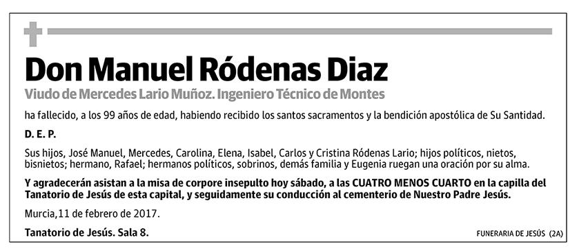 Manuel Ródenas Diaz