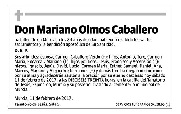 Mariano Olmos Caballero