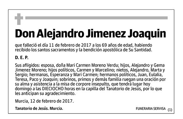 Alejandro Jimenez Joaquin