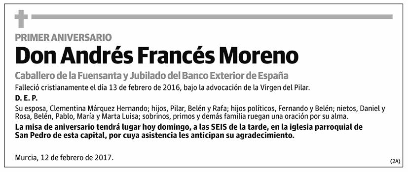Andrés Francés Moreno
