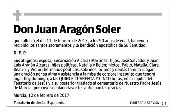 Juan Aragón Soler