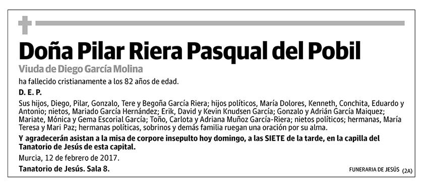 Pilar Riera Pasqual del Pobil