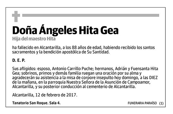 Ángeles Hita Gea