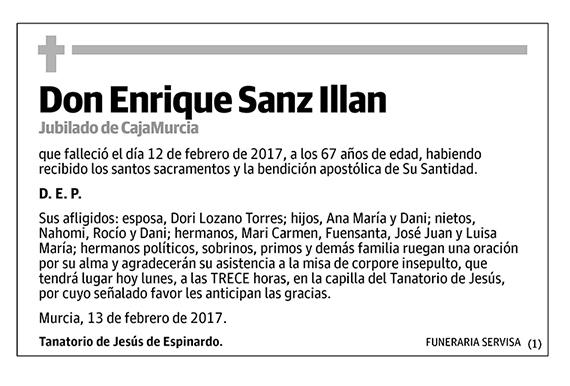 Enrique Sanz Illan