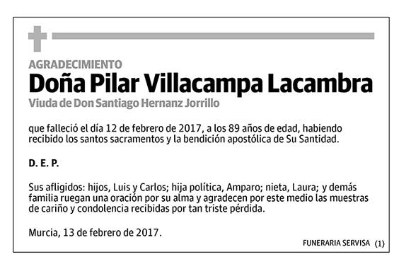 Pilar Villacampa Lacambra