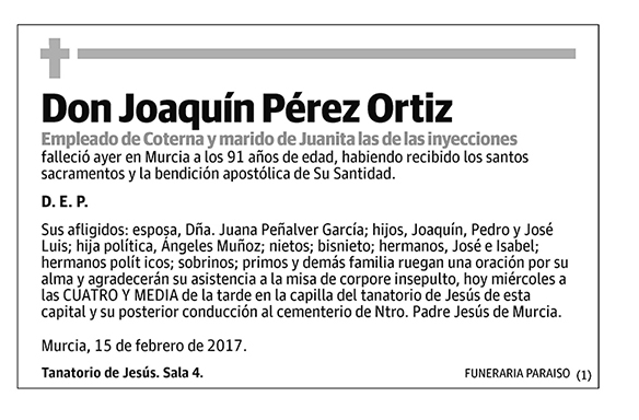 Joaquín Pérez Ortiz