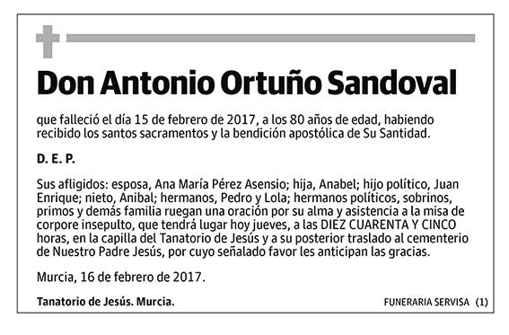 Antonio Ortuño Sandoval