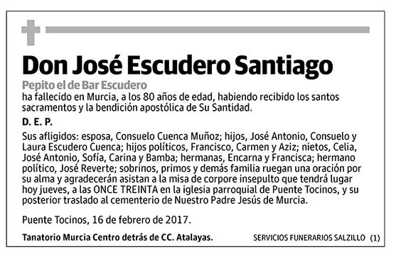 José Escudero Santiago