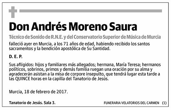 Andrés Moreno Saura