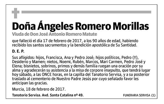 Ángeles Romero Morillas