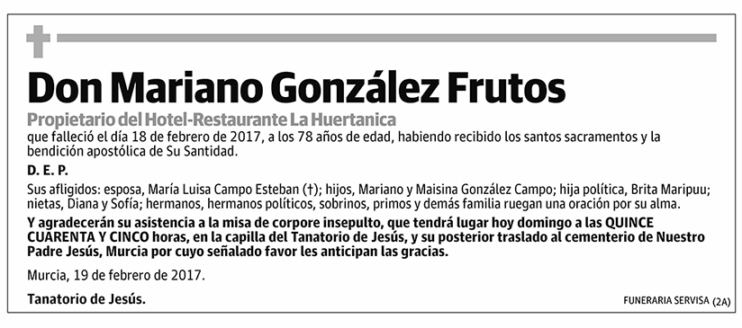 Mariano González Frutos