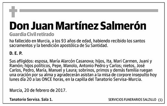 Juan Martínez Salmerón