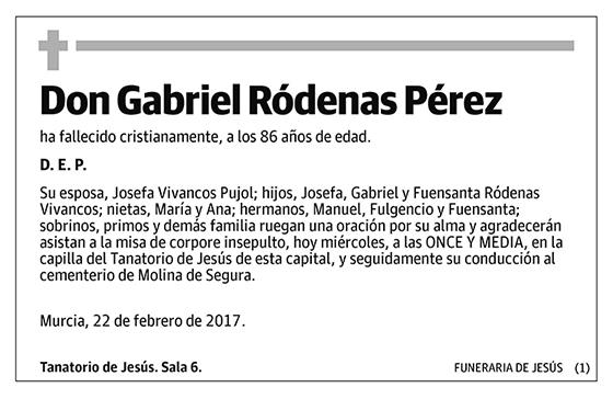 Gabriel Ródenas Pérez