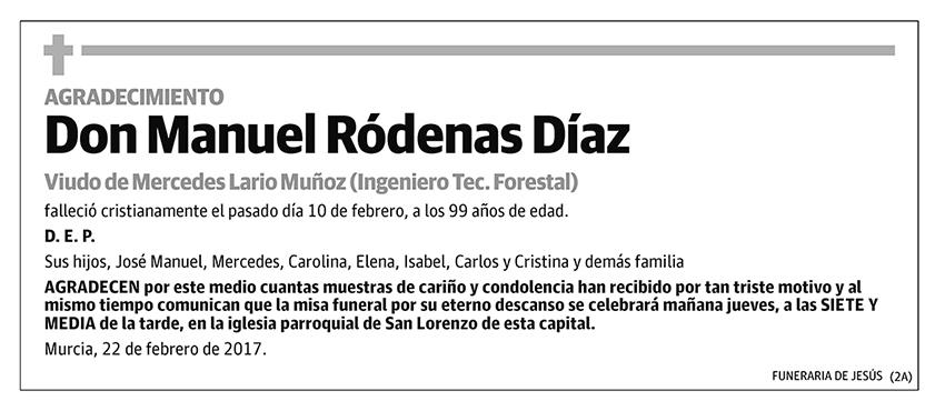Manuel Róddenas Díaz