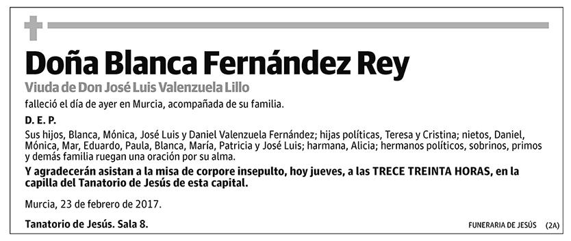 Blanca Fernández Rey