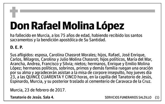 Rafael Molina López
