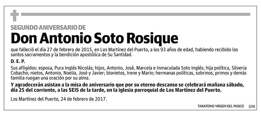 Antonio Soto Rosique