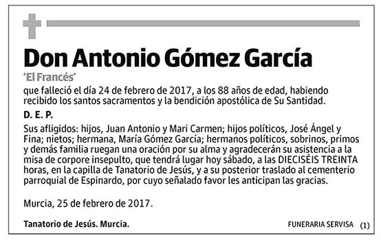 Antonio Gómez García