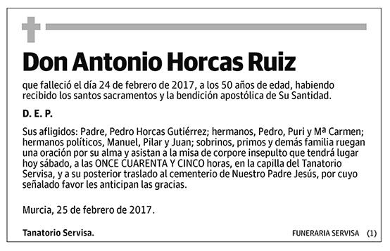 Antonio Horcas Ruiz