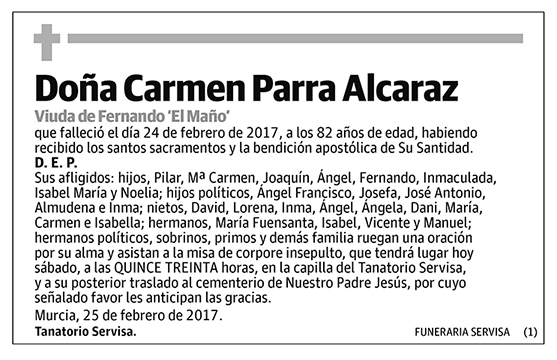 Carmen Parra Alcaraz