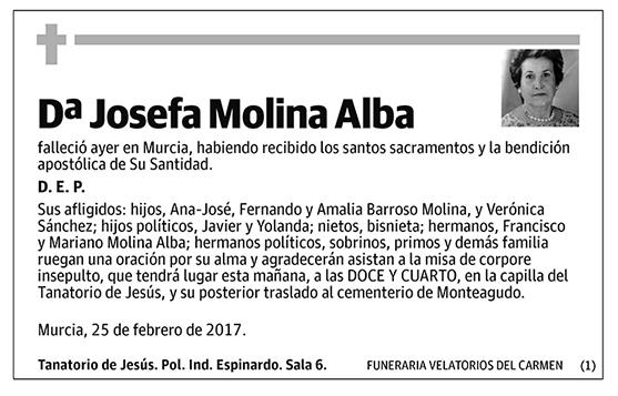Josefa Molina Alba