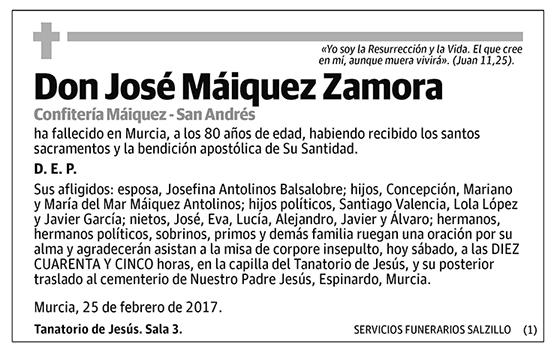 José Máiquez Zamora