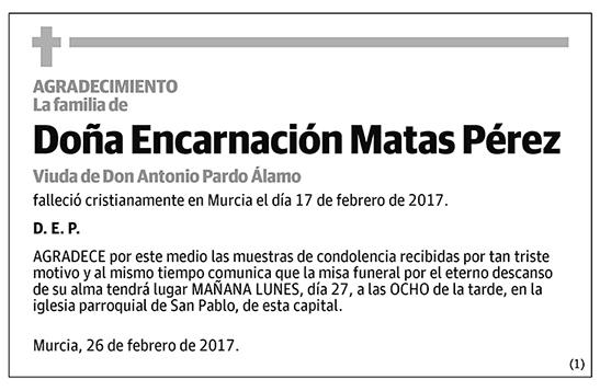 Encarnación Matas Pérez