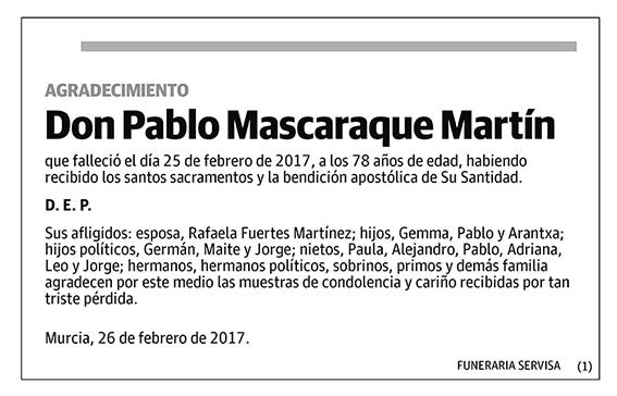 Pablo Mascaraque Martín