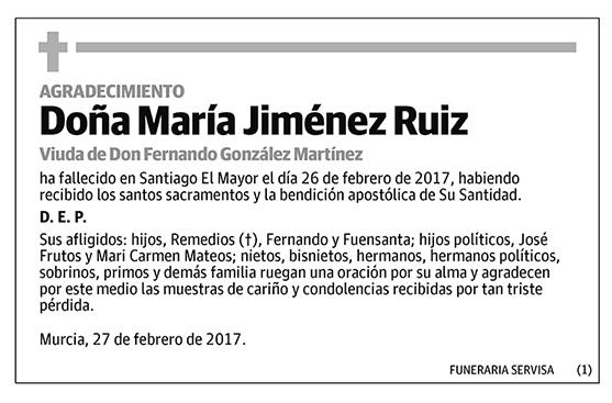 María Jiménez Ruiz