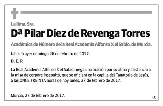 Pilar Díez de Revenga Torres