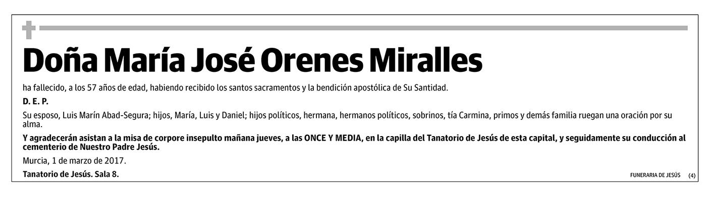 Maria José Orenes Miralles