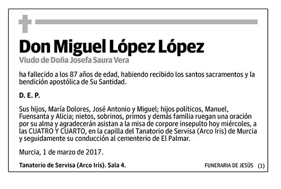 Miguel López López