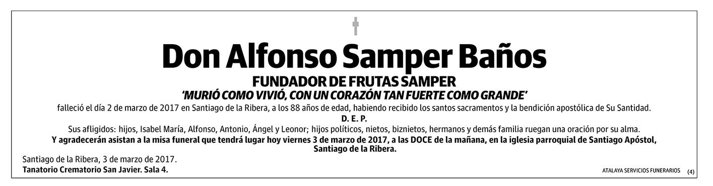 Alfonso Samper Baños