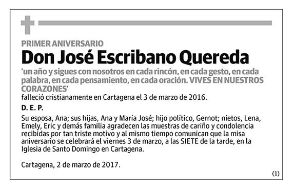 José Escribano Quereda