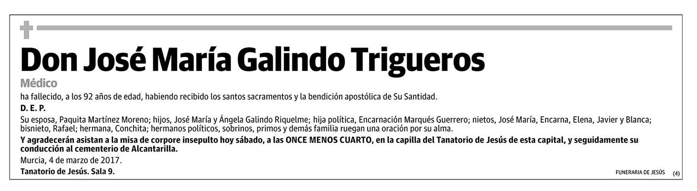 José María Galindo Trigueros